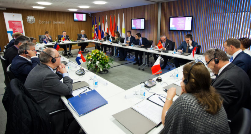 Conference Interpretation at an international government meeting