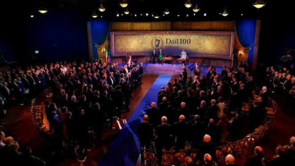 Centenary of the First Dáil in 2019