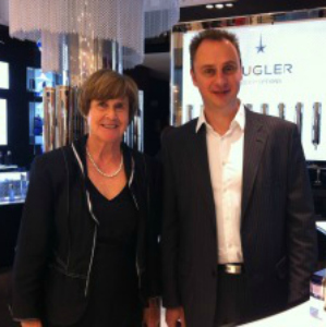 Interpreting for Thierry Mugler - Hazel Cole with Jean Christophe Herault