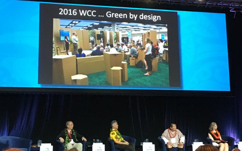 We have provided Interpretation Project Management at the World Conservation Congress (3 times)